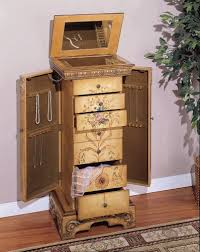 Jewelry Armoire Vintage Antique Looking Jewelry Armoire Style Guru Fashion Glitz