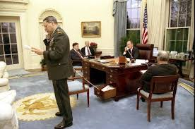 what u0027s the deal with the hidden desk phone in this oval office