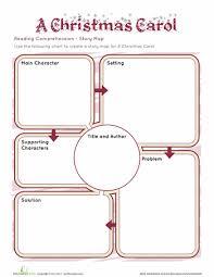 a christmas carol story map worksheets language arts and language