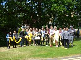 sunfield high school special school and sixth formers create week tree