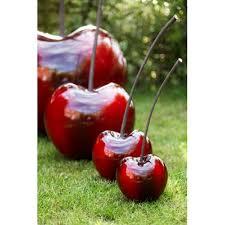 collection of cherry garden ornaments new garden style