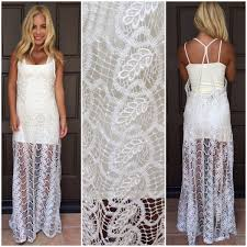 lace maxi dress valerian crochet lace maxi dress by sky dainty hooligan boutique
