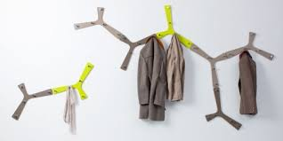nature inspired coat rack and wall hooks shelterness