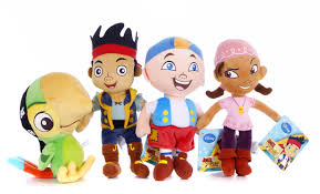 jake u0026 neverland pirates 8 soft toy assortment 8 00