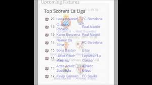 la liga table 2015 16 23th journey la liga results table top scorers upcoming fixtures