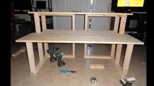 home recording studio desk plan cool maxresdefault homemade