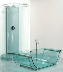 Glass Bathroom Fixtures By Prizma The Transparent Bathroom - Glass bathroom