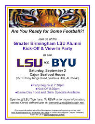 spirit halloween birmingham al greater birmingham lsu alumni chapter