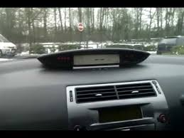 citroen c4 electrical dash failure youtube