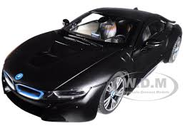 bmw model car i8 matt black 1 24 diecast model car rastar 56500