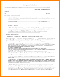 8 rent lease agreement producer resume