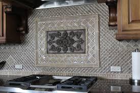 kitchen backsplash medallions kitchen contemporary fleur de lis backsplash medallion mosaic tile