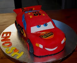 car cake lightning mcqueen car cake recipe recipeyum
