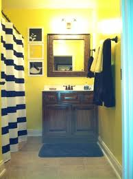 black and yellow bathroom ideas navy and yellow nautical boys bathroom house navy and