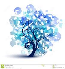 blue tree royalty free stock photo image 20121075