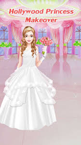 hollywood princess wedding makeover 2 girls make up dress up