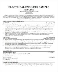 Sample Resume Of Engineering Student by 47 Engineering Resume Samples Free U0026 Premium Templates