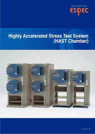 highly accelerated stress test chambers hast espec pdf