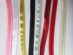 satin bias polyester satin bias cord flange piping trim upholstery 12 mm
