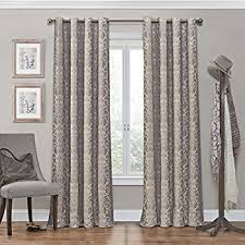Curtains 95 Inches Length Amazon Com Moroccan Pattern Linen Curtains 95 Inch Long For