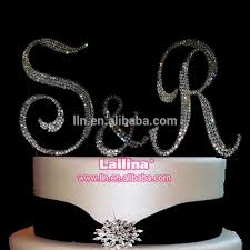bling cake toppers new wholesale high quality rhinestone cake topper specialized