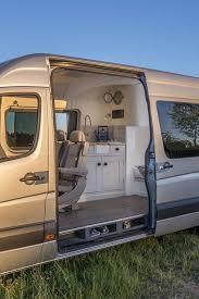 Conversion Van With Bathroom Brilliant Camper Van Conversion Uses Space Saving Boat Design