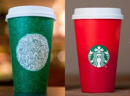 no those green cups aren u0027t the starbucks holiday cup self