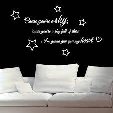 a sky full of stars wall sticker wall stickers a sky full of stars wall sticker