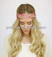 bohemian headbands godbead bohemian headbands beaded jeweled indian ribbon band