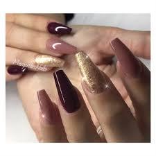 fall colors nail fashion coffin nails nails pinterest coffin