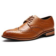 men leather shoes nice new fashion microfiber leater dress shoes