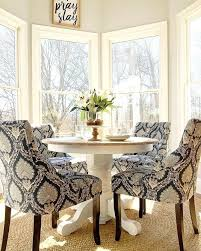 pedestal table with chairs dining table with upholstered chairs what i want for my small round