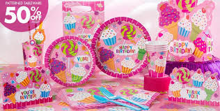 birthday party supplies birthday favors party city image inspiration of cake and