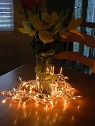 Lights In Vase 9 Easy Ways To Decorate Your Apartment With Fairy Lights