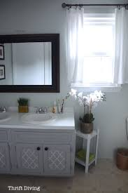 How To Design A Bathroom Before U0026 After My Pretty Painted Bathroom Vanity