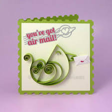 paper quilling birds tutorial paper zen paper quilling a bird video tutorial and greeting card