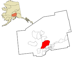 Alaska Population Map by Willow Alaska Wikipedia