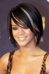 Bob Frisuren Rihanna by Bob Mit Strähnen Bei Rihanna Bilder