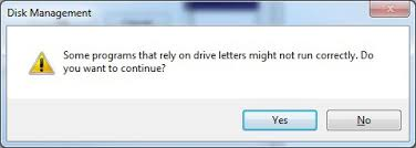 how to manually assign or change a drive letter in windows