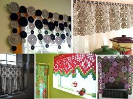 Crochet Kitchen Curtains by 39 Best Crochet Curtains Images On Pinterest Crochet Curtains