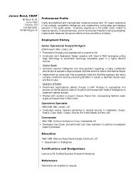 Sample Resume Business by Business Analyst Resume Sample James Bond