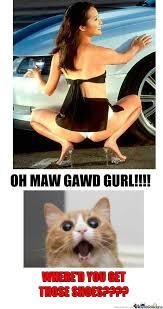 Car Girl Meme - girl and car oh maw gawd by shusuika meme center