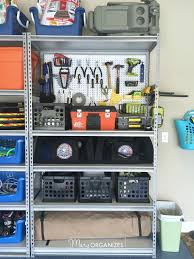 pegboard hack u0026 organizing garage shelves creatingmaryshome com