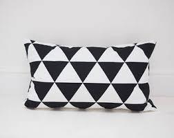 triangle cushion etsy