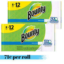 target black friday towels bounty paper towels 71 per roll southern savers