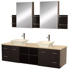 bathroom white sink and silver steel shelf on unique bathroom