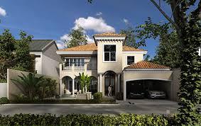 modern mediterranean house