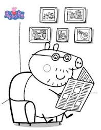 peppa pig coloring pages coloring library coloring pages