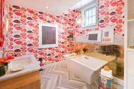 wallpaper ideas for bathrooms 15 beautiful reasons to wallpaper your bathroom hgtv s decorating