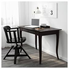 Home Office Writing Desks by Leksvik Desk Black 119x60 Cm Ikea